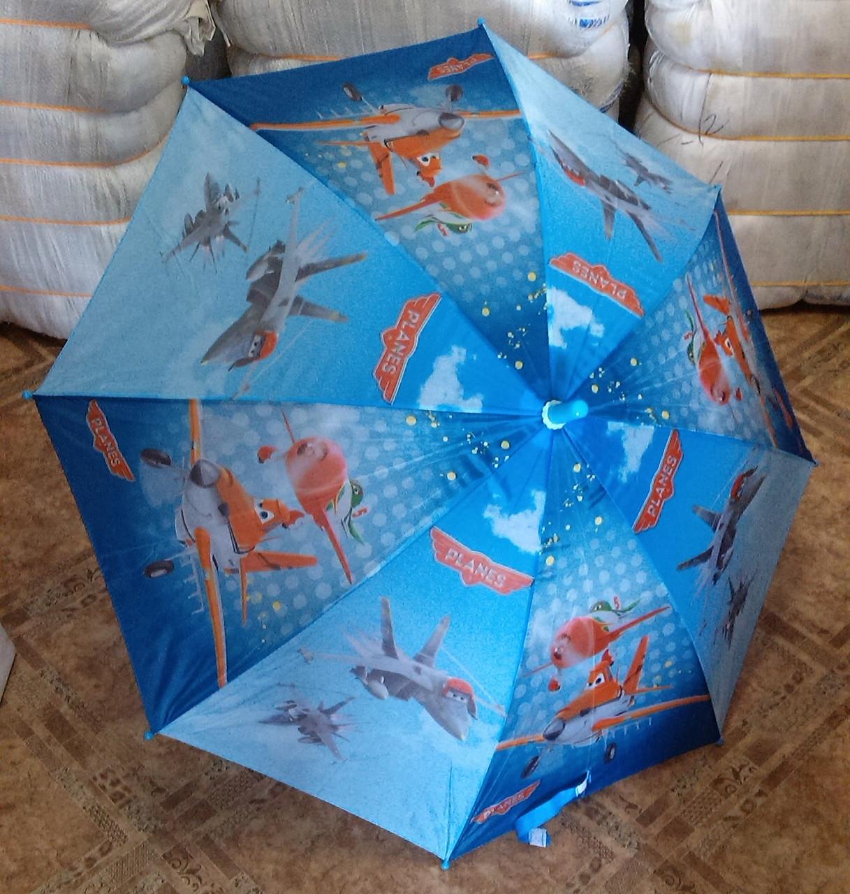 Зонт детский самолеты 8 спиц