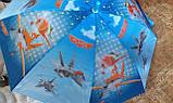 Зонт детский самолеты 8 спиц, фото 3