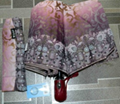 Женский зонт п/автомат 8 спиц, фото 4