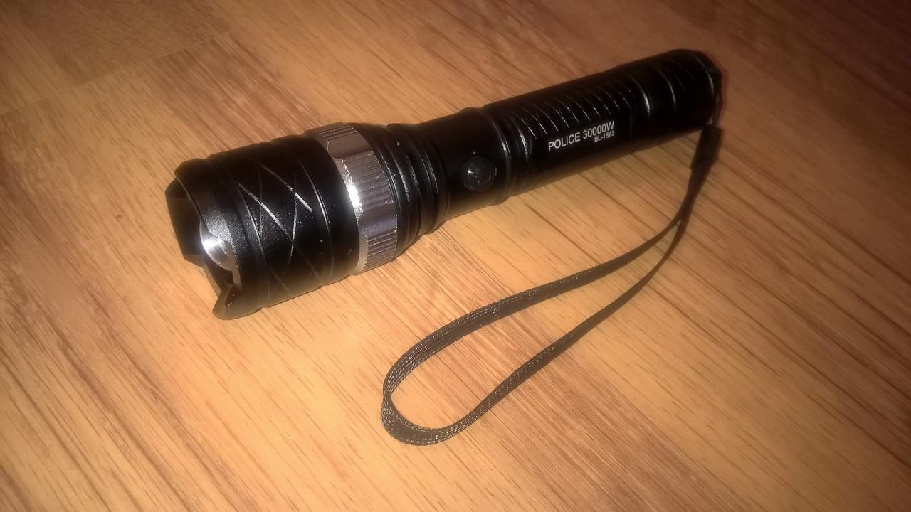 Комплект фонарик плюс суперпрочная леска. Яркий светодиодный фонарик бейлонг  BAILONG