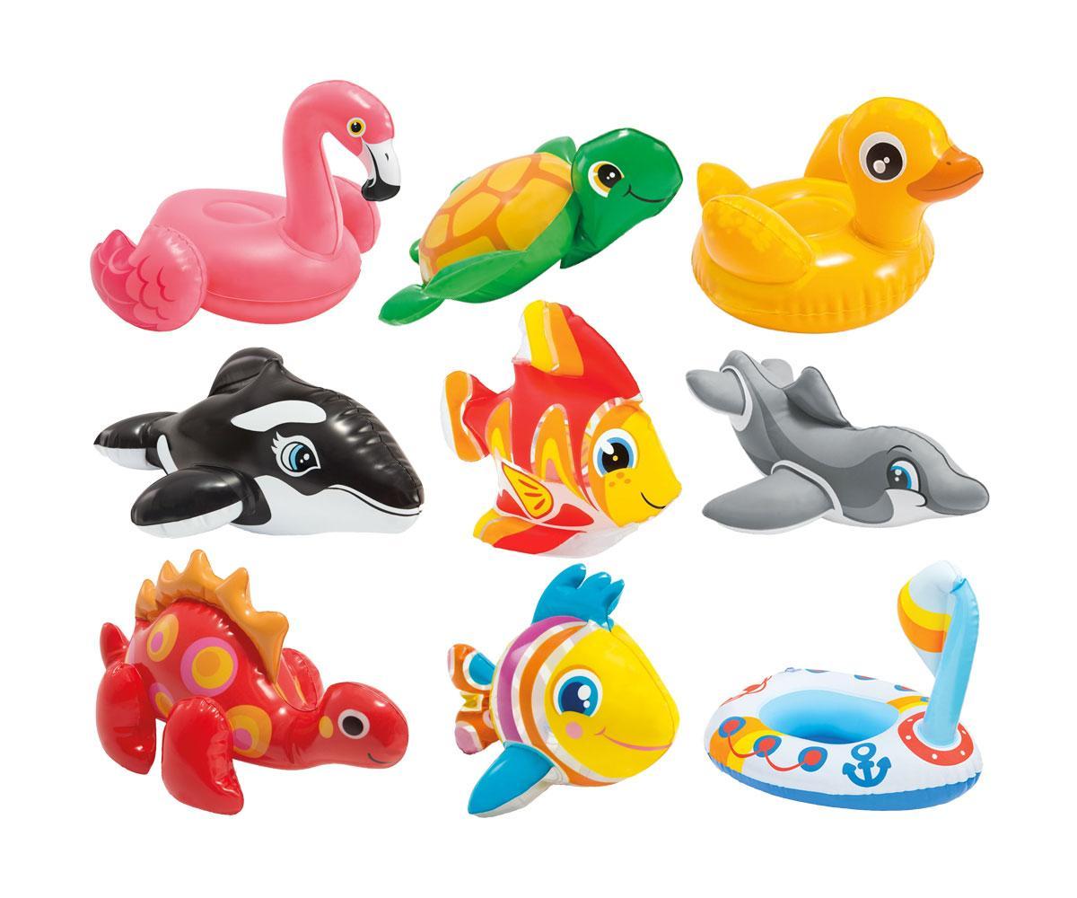 Животные надувные 58590NP Intex 2 рыбки. Упаковка 36 штук
