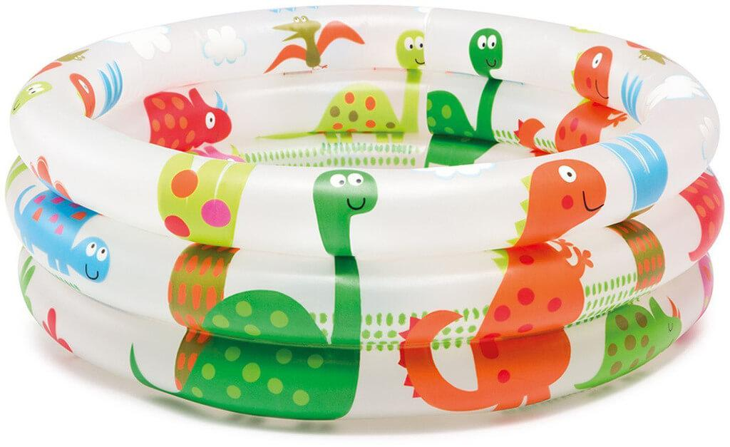 Надувной бассейн Intex 57106NP Динозаврики. Упаковка 12 штук