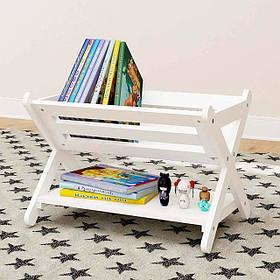 """Стеллаж для книг и игрушек """"Флаттершай"""""""