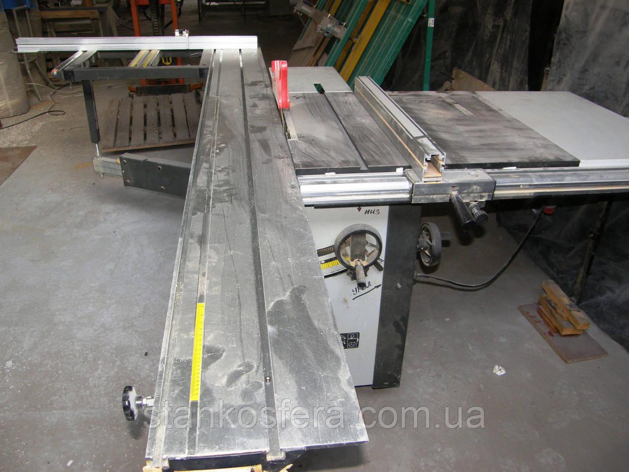 Форматно-раскроечный станок Zenitech FR2800 бу 2010, каретка 2800 мм
