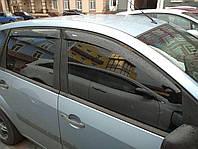 Дефлекторы окон (ветровики) Ford Fiesta 5d hatchback 2002-2009, ANV - Cobra Tuning, F30302
