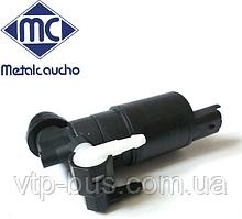 Насос бачка омывателя лобового и заднего стекла на Renault Trafic (2001-2014) Metalcaucho (Испания) MC02063