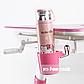 Стол-трансформер FunDesk Amare Pink + Книжная полка FunDesk SS16, фото 8