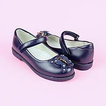 7769B Детские синие туфли для девочки тм Tom.M размер 33, фото 2