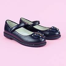 7769B Детские синие туфли для девочки тм Tom.M размер 33, фото 3