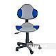 Комплект парта  FunDesk Volare Blue + детский стул для школьника FunDesk LST3 Blue-Grey, фото 5
