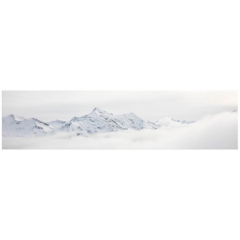 """Кухонний скіналі (фартух) """"Білі гори"""" / Кухонный скинали (фартук) """"Белые горы"""""""