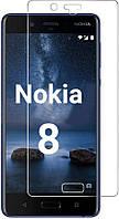 Захисне скло 2D Прозоре Nokia 8