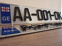 5Д 5D номера для автомобиля 12 мм для еврономеров