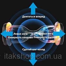 Гироборд Smart Balance Wheel 10,5 дюймов U8 TaoTao с самобалансом и колонкой (Статуя свободы), фото 3