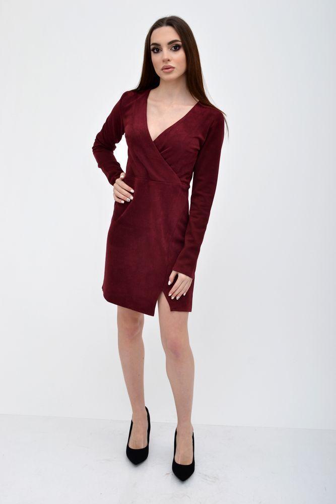 Платье женское 115R805 цвет Бордовый