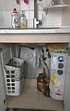 Корзина для хранения полиэтиленовых пакетов, бахил, фото 9