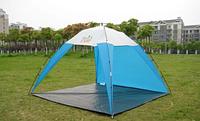 Пляжная палатка с УФ защитой GreenCamp 220 х 220 х 160 см,Тент пляжный GreenCamp