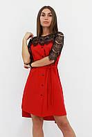 S, M, L | Вишукане жіноче плаття Adelin, червоний