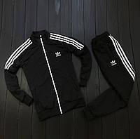 Спортивный мужской костюм Adidas TEAM Black Черный, 1597157776