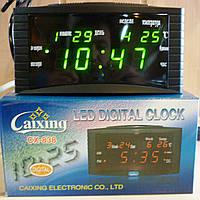 Настільні годинники LED CX-838, фото 1