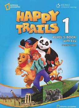 Happy Trails 1 Pupil's Book with Key overprint