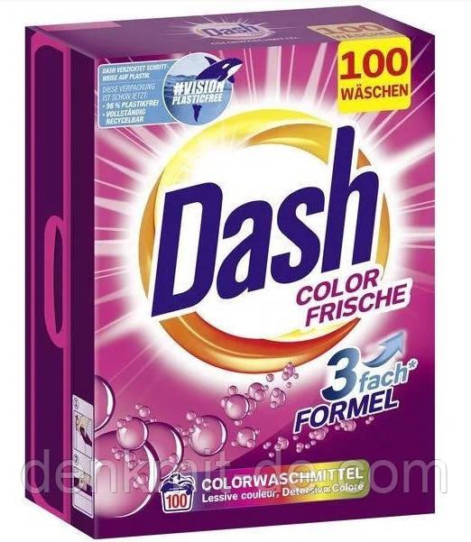 Порошок пральний Dash 3w1 Color Frische картон 6,5 kg 100 прань