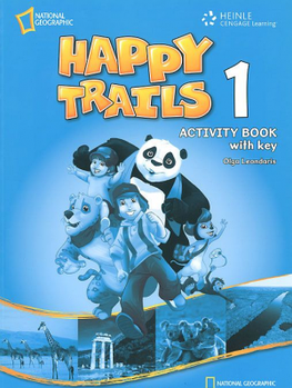 Happy Trails 1 Activity Book with overprint Key