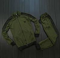 Спортивный мужской костюм Adidas TEAM Хаки, 1597157772