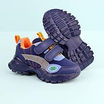 7889D Детские синие кроссовки для мальчика тм Tom.M размер 21,22,23,24, фото 3