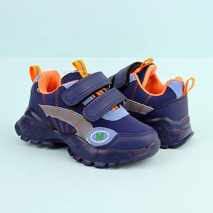 7889D Детские синие кроссовки для мальчика тм Tom.M размер 21,22,23,24, фото 2