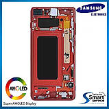 Дисплей Samsung G975 Galaxy S10+/Plus Красный RED GH82-18849H оригинал!, фото 2