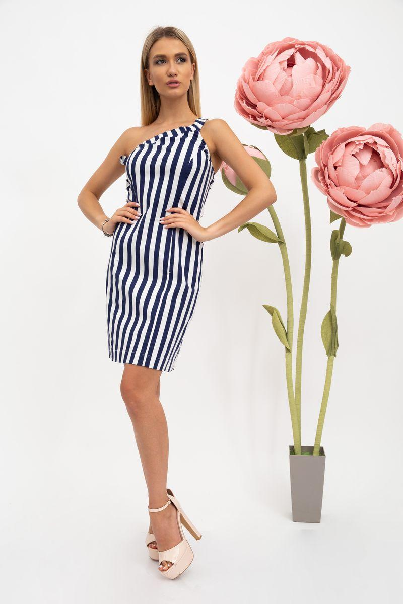 Платье женское 115R3301 цвет Сине-белый