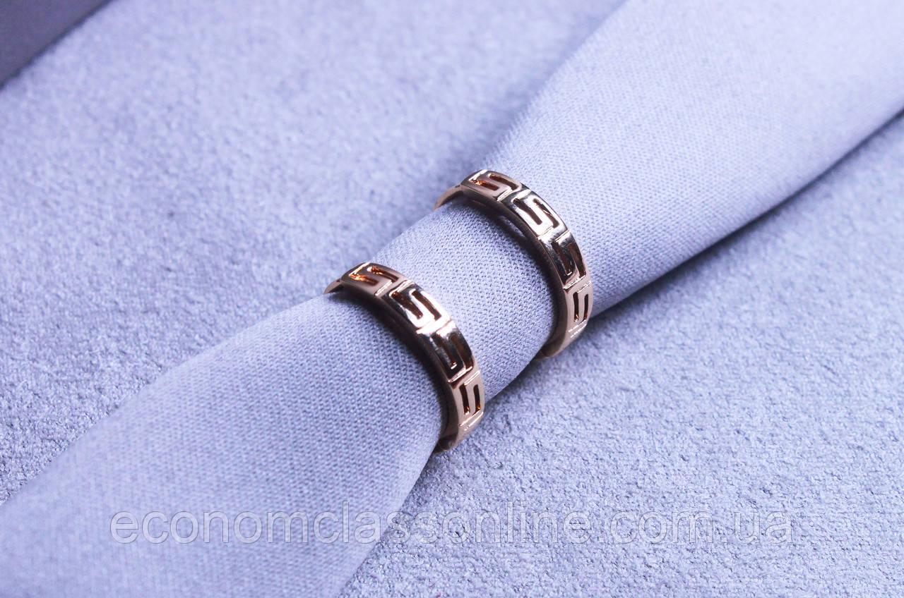 Сережки фірми Xuping позолота (color 67)