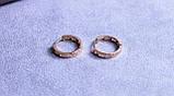 Сережки фірми Xuping позолота (color 67), фото 4