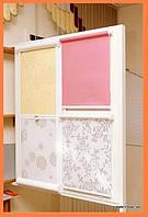 Роллеты для окон и дверей из тканей Камелия  в Украине производство под заказ приглашаем дилеров