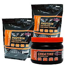 МАСС-Комплекс MAXIMAльный: 4 кг Протеина Германия (80% белка /16% ВСАА) + Вкусовой Креатин в Подарок!