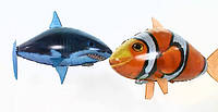 Летающая рыба. Радио модель для детей 4-8 лет.