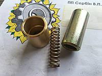 Ремкомплект на трищетку косарки (втулка, пружина, палець)