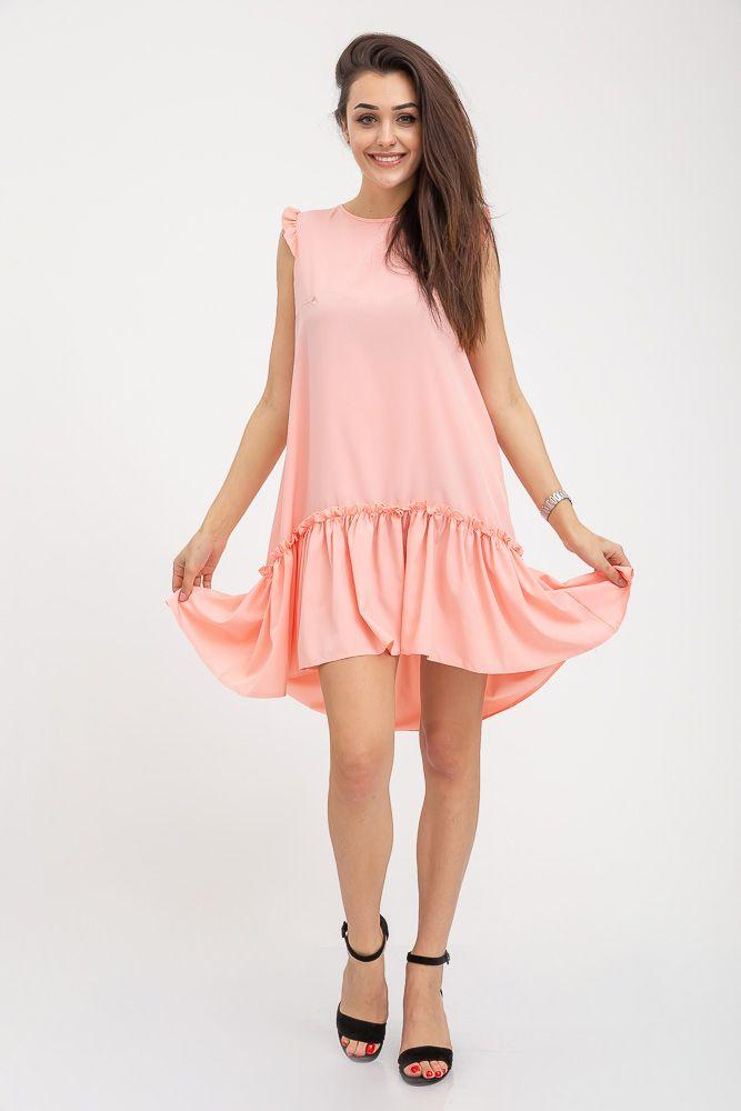 Сарафан 112R413 цвет Персиковый