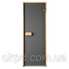 Дверь для бани и сауны Saunax (матовая бронза)