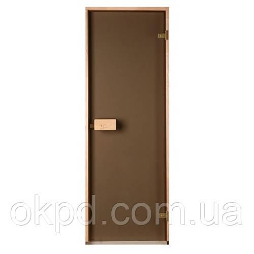 Двері для лазні та сауни Saunax (бронза)