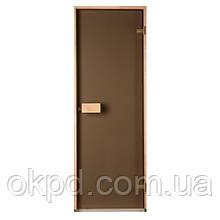 Дверь для бани и сауны Saunax (бронза)