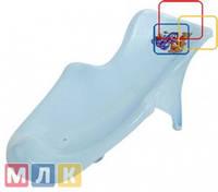 Maltex Подставка в ванночку Кубусь, голубой