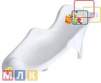 Maltex Подставка в ванночку Дино, белая