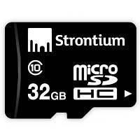 Карта памяти STRONTIUM Flash Miсro-SDHC memory card 32Gb Class 10 (SR32GTFC10R)