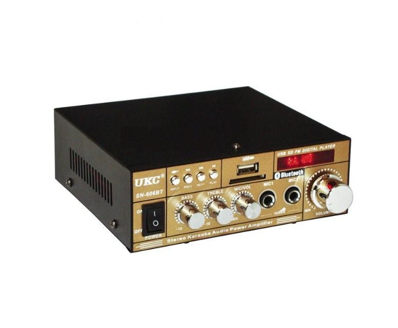 Усилитель звука UKC SN-606BT, c Bluetooth