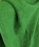 Полотенце махровое зелёное  50*90
