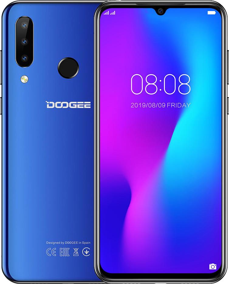Doogee N20 4/64 Blue Гарантия 1 Год!