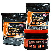 МАСС-Комплекс на 2 месяца: 4 кг Протеина Германия (80% белка /16% ВСАА) + Intensive Five креатин в Подарок!