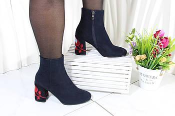 Елегантні черевики на підборах Battine B504